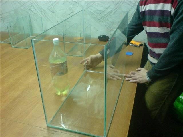 Общая сборка аквариума своими руками