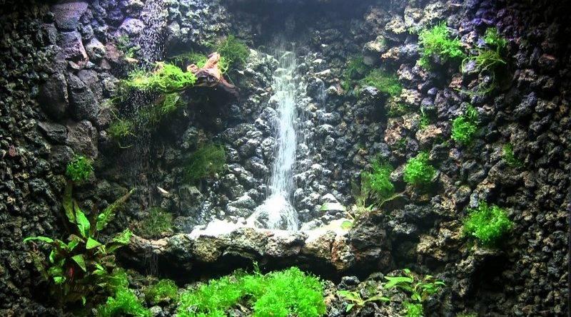 Как установить водопад в аквариуме