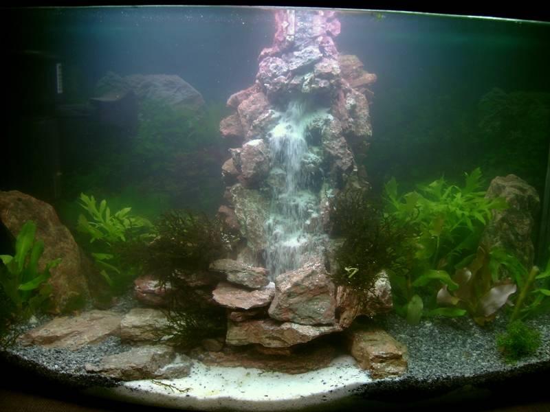 Аквариумный водопад